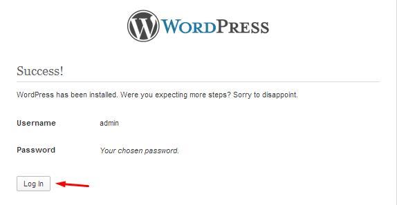 13-install-wordpress-offline-sukses