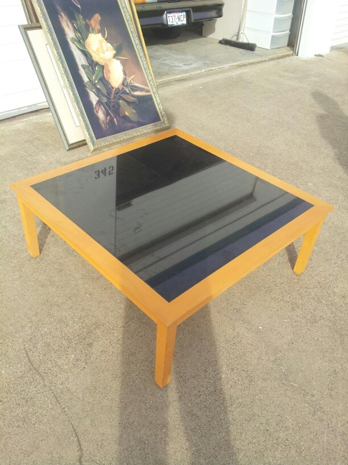 Store Banne Coffre K60 Coffee Table Marble Insert
