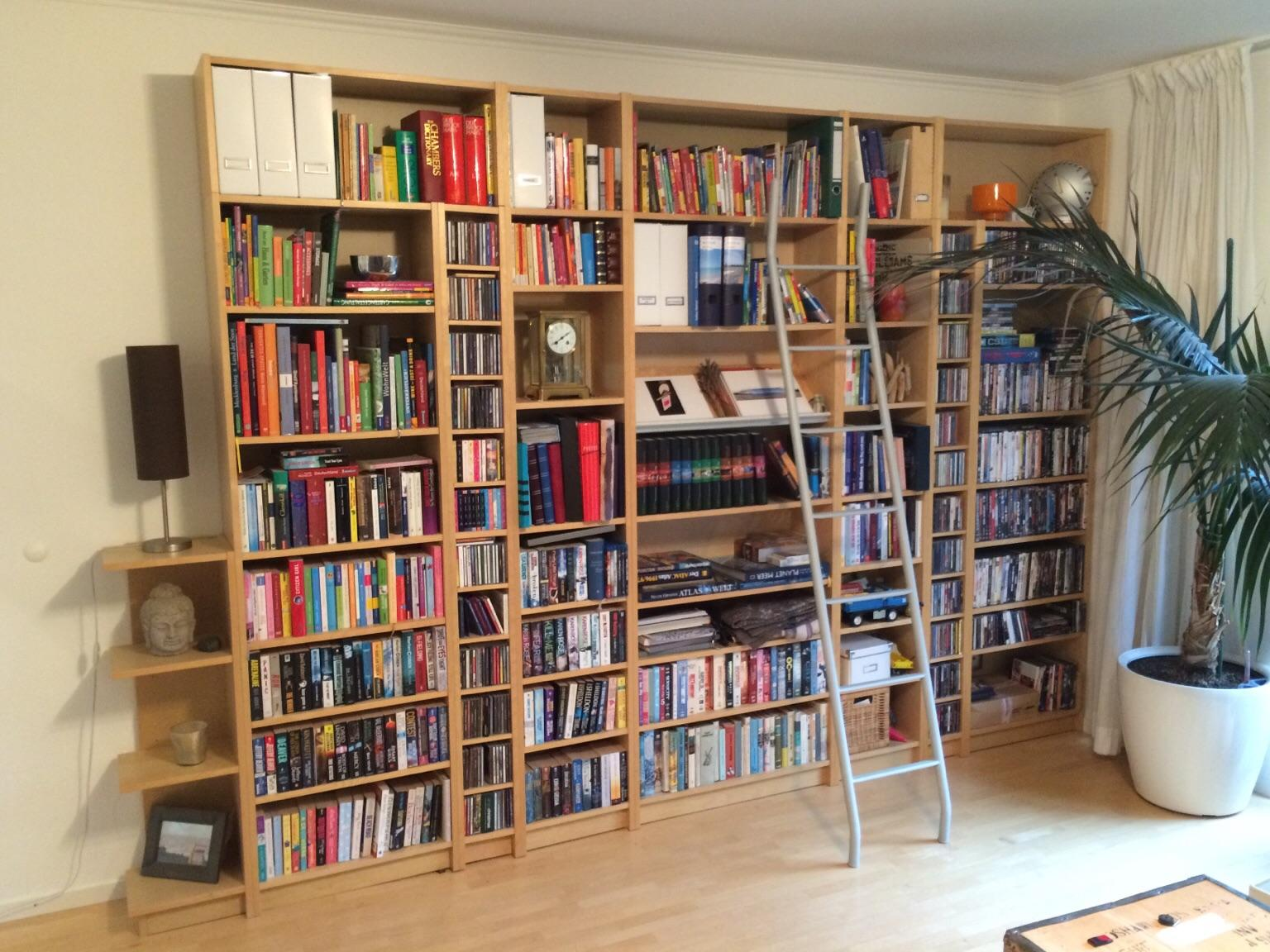Ikea Billy Bücherregal Birke 3 53m X 2 37m In 22846 Norderstedt For 260 00 For Sale Shpock