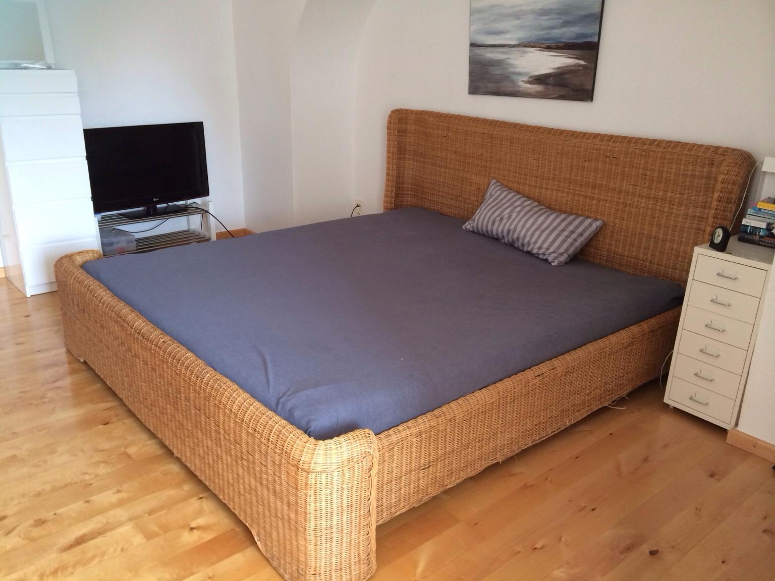Ikea Rattanbett In 82041 Oberhaching For Free For Sale