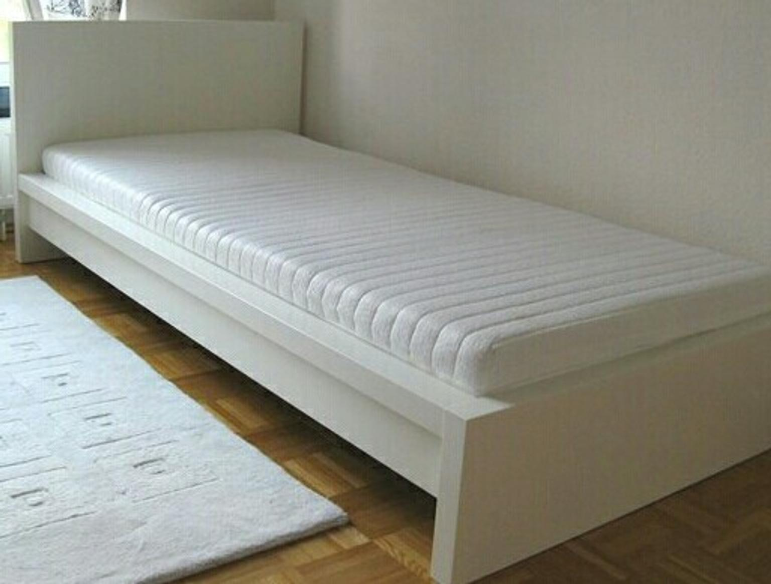 Malm Bett Weiß 90x200 In 67549 Worms For 45 00 For Sale Shpock