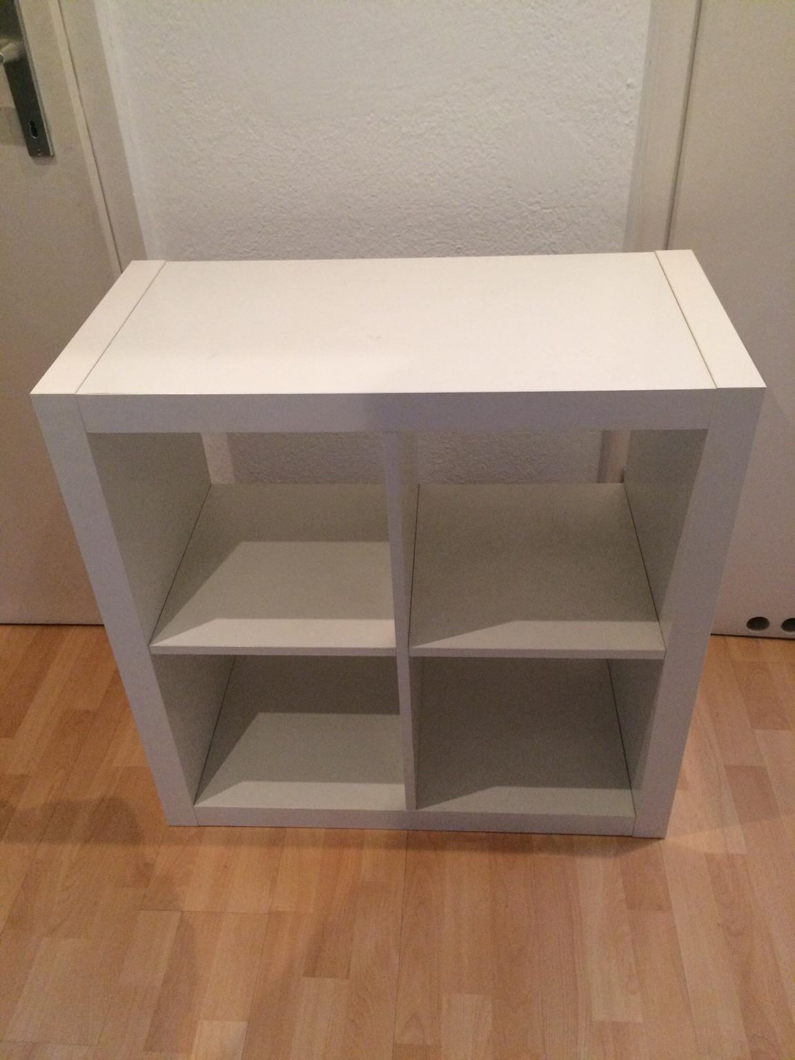 Expedit Regal 4 Fächer 2x2 Weiß Ikea Kallax In 8010 Graz - Regal Quadratische Fächer