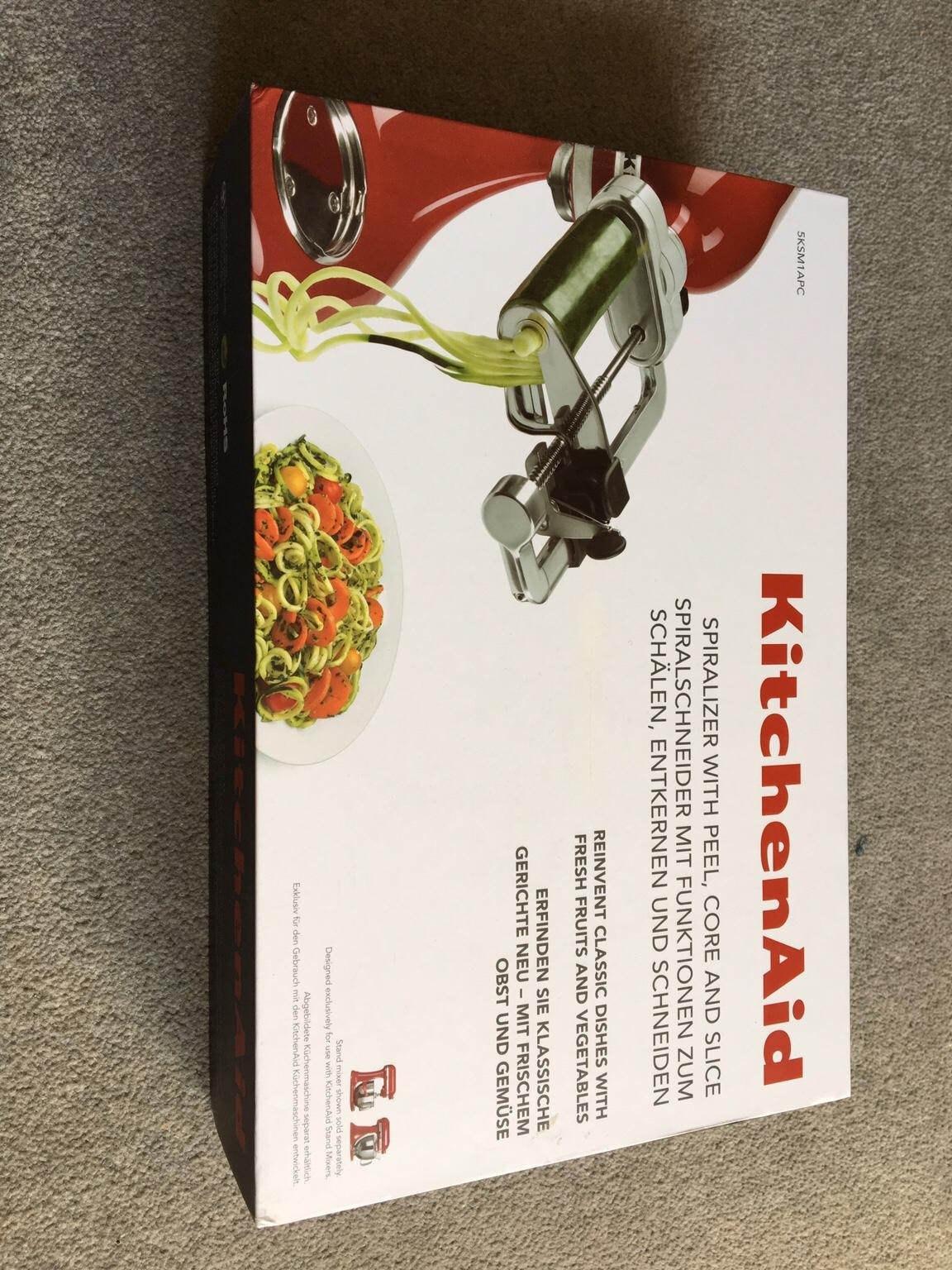 Kitchenaid Küchenmaschine Video Kitchenaid Spiralizer With Peel Core Slice