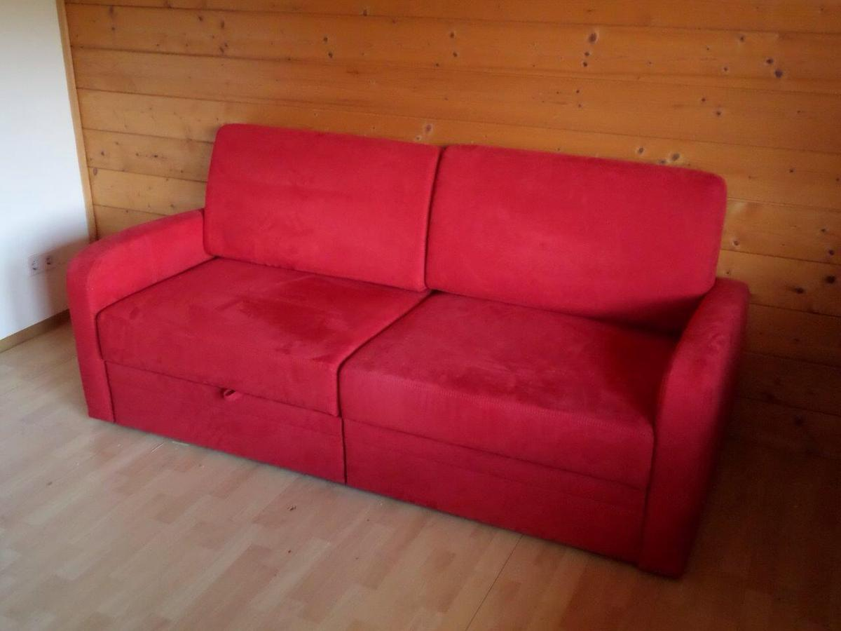 Schlafsofas 160x200 Funktionssofa, Schlafsofa Rot In 4845 Kirchberg For €290.00 For Sale | Shpock