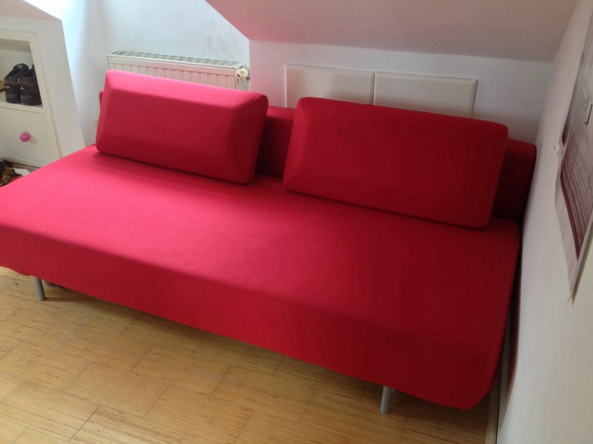 Interio Sofa Samt Bettsofa Von Interio