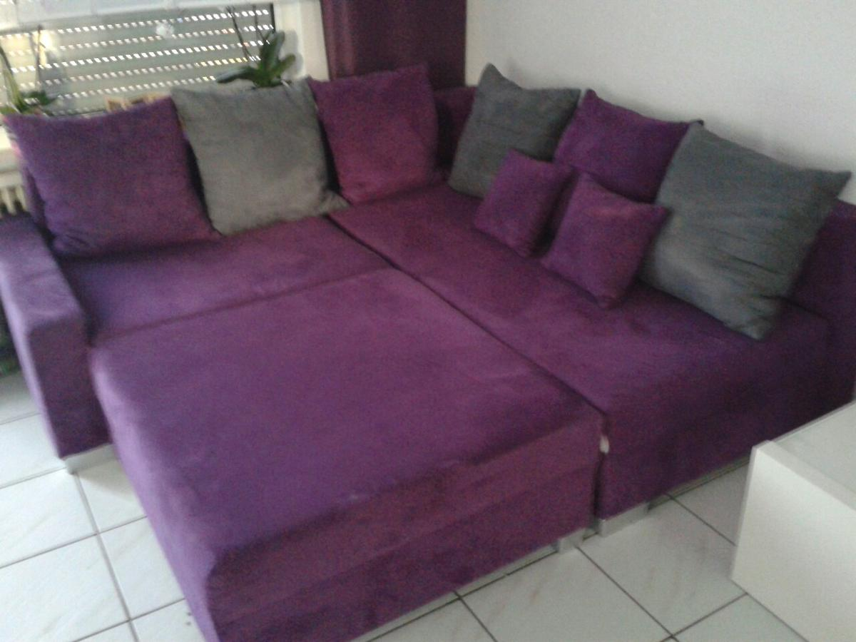 Couch Lila Couch Lila/grau In 44319 Dortmund For €150.00 For Sale | Shpock