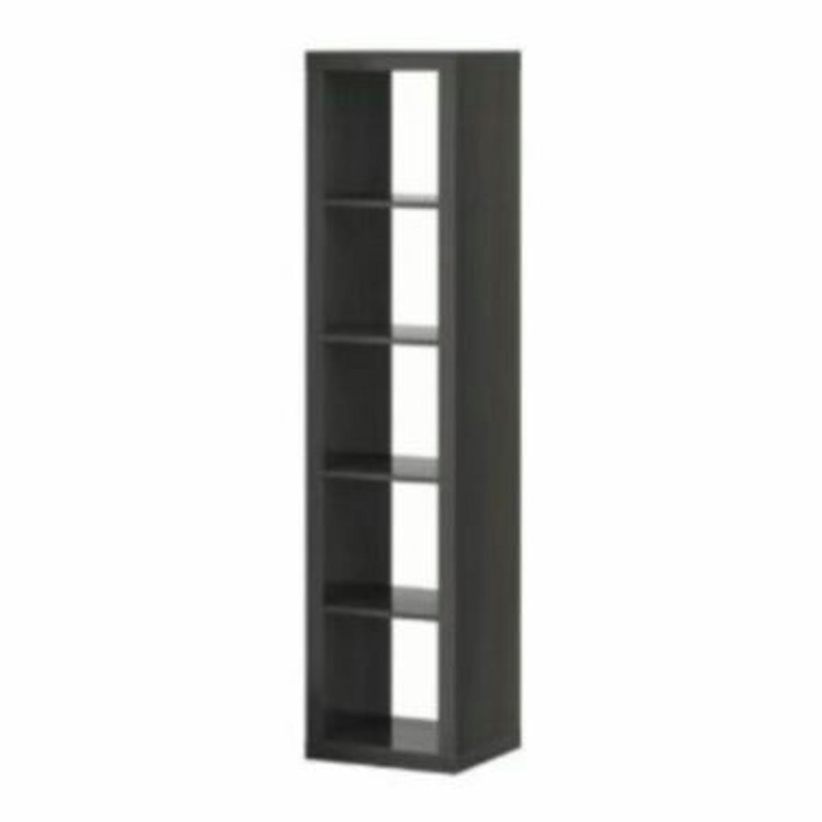 Nussbaum Regal Ikea Ikea Expedit Regal 1x5 Nussbraun Nussbaum