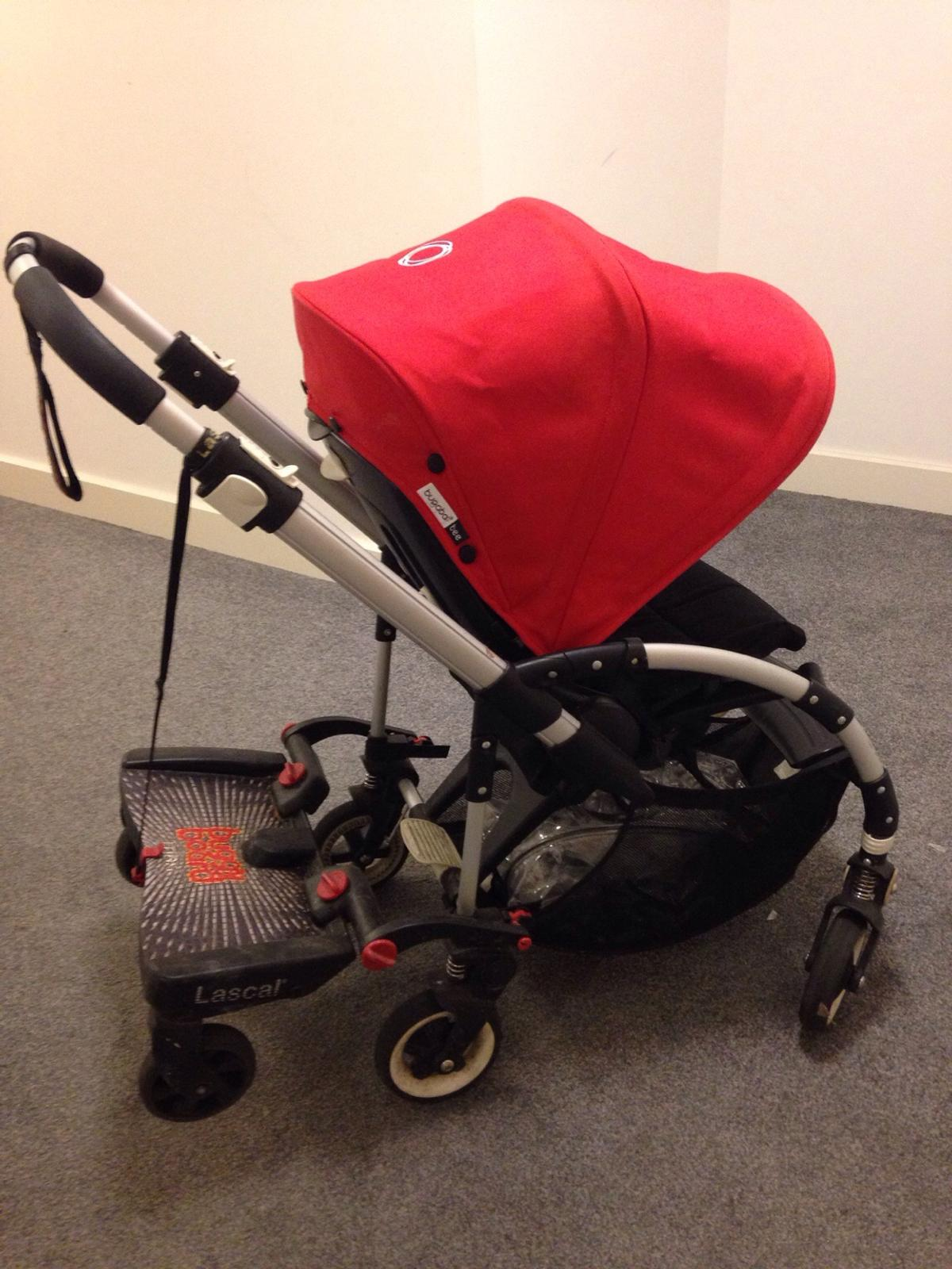 Bugaboo Bee With Buggy Board Bugaboo Bee Stroller With Lascal Buggy Board In E8 London