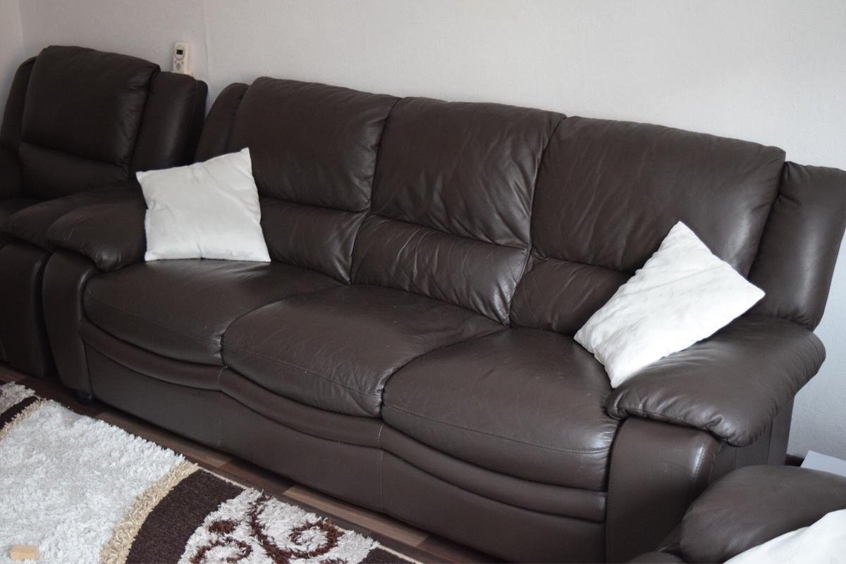Ledercouch Mit Relaxfunktion Echtes Leder Couch Mit Relaxfunktion Braun In 68167 Mannheim For