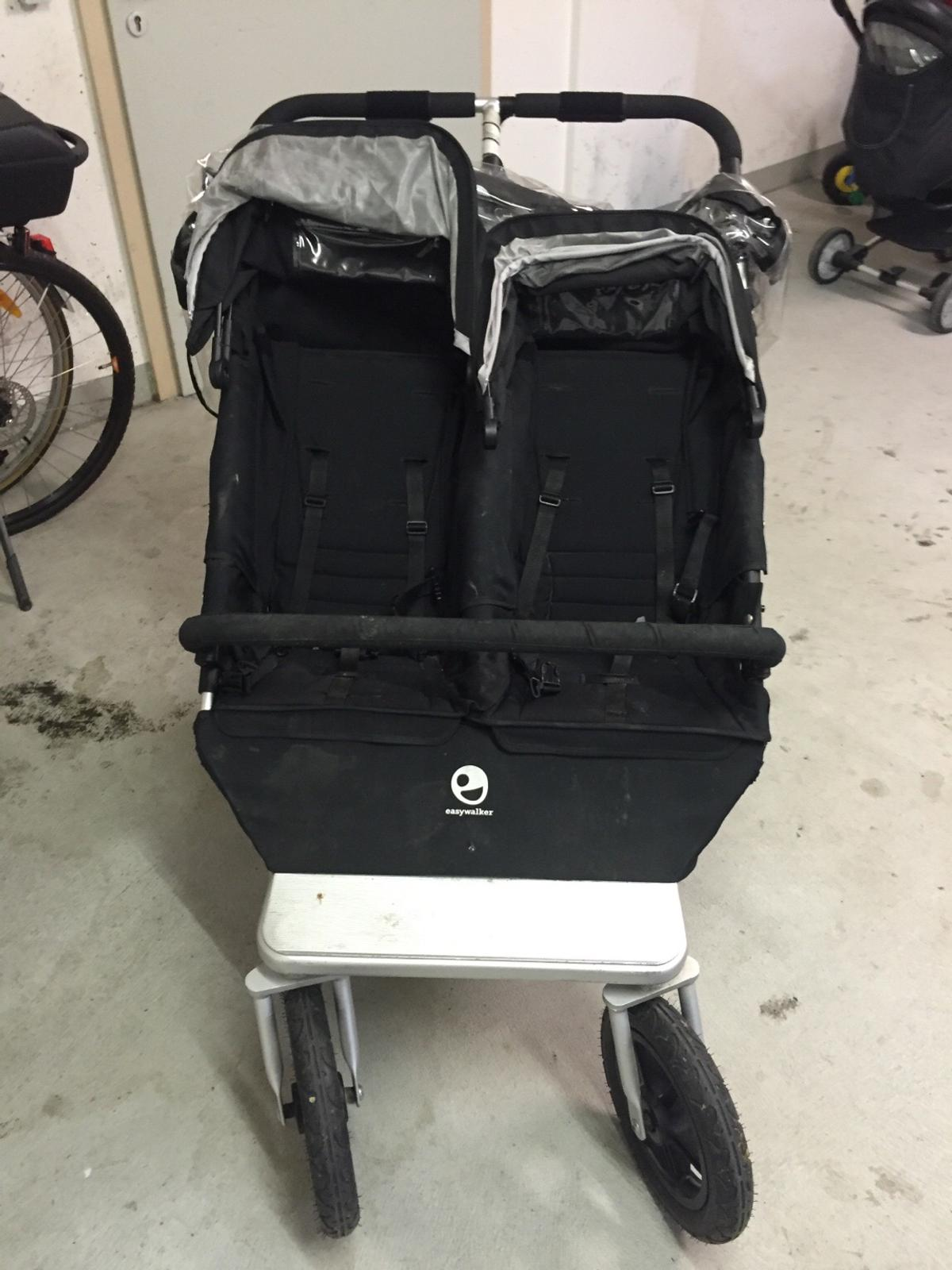 Kinderwagen Easywalker Duo Easy Walker Duo Zwillings Geschwisterwagen