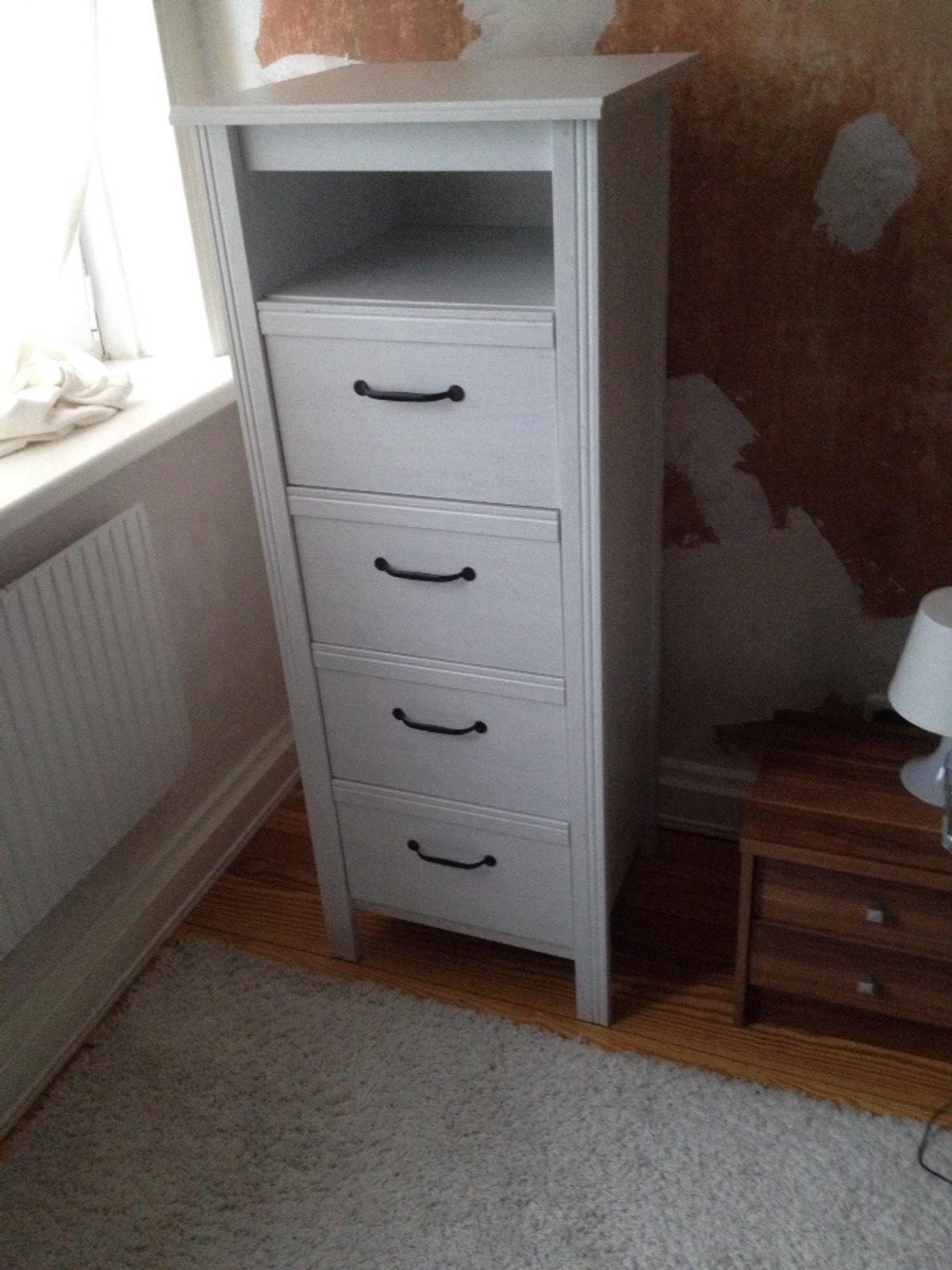 Brusali Ikea Kommode Schlafzimmer Weiss In 22047 Hamburg For 55 00 For Sale Shpock