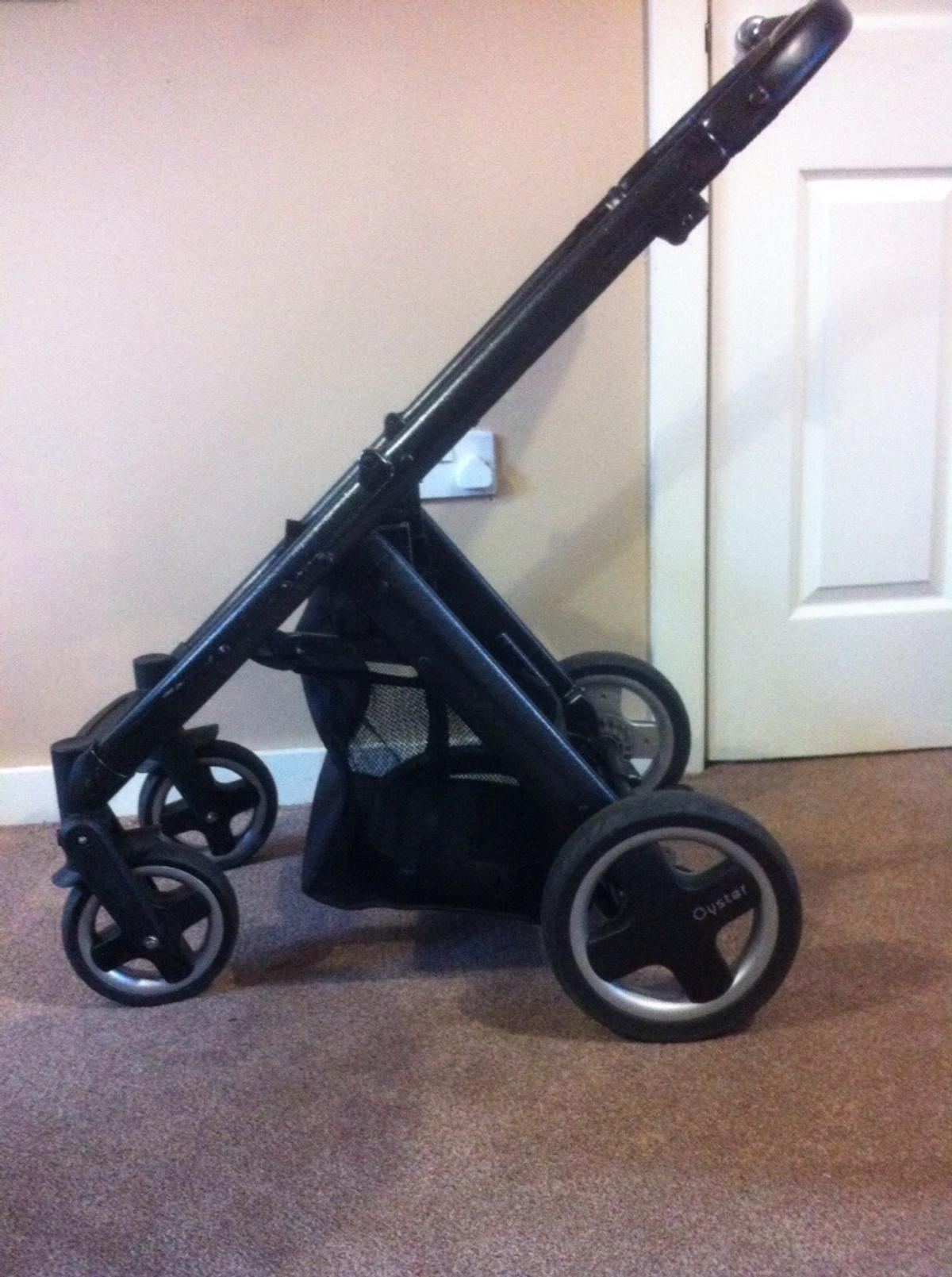 Egg Pram Replacement Wheels Oyster Pram Chassis Spares Only