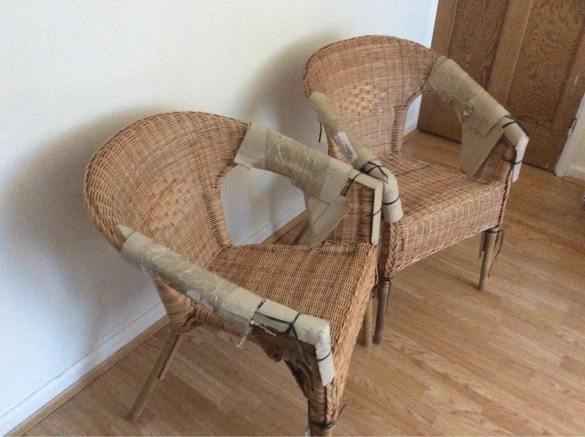 Rattan Ikea 2x Ikea Agen Chair Rattan Bamboo In W7 London For 44 00
