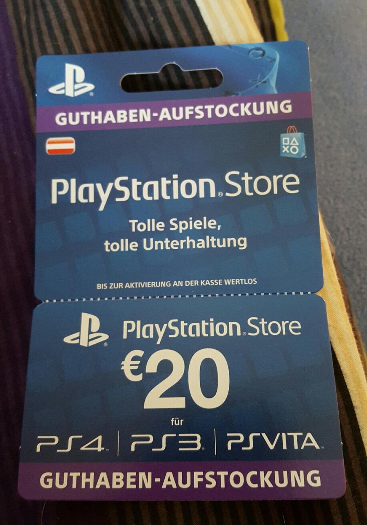 Ps Store Karte Playstation Store Karte