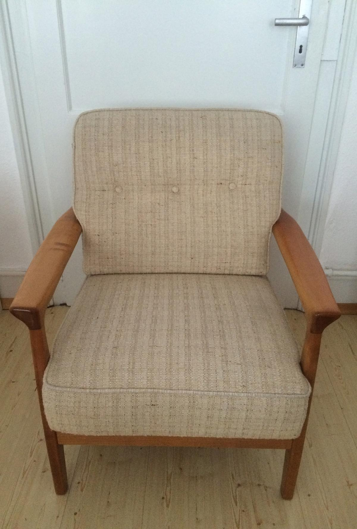 Sessel 70er Holz Sessel Holz Easy Chair Danish Design 70er In 68161 Mannheim Für