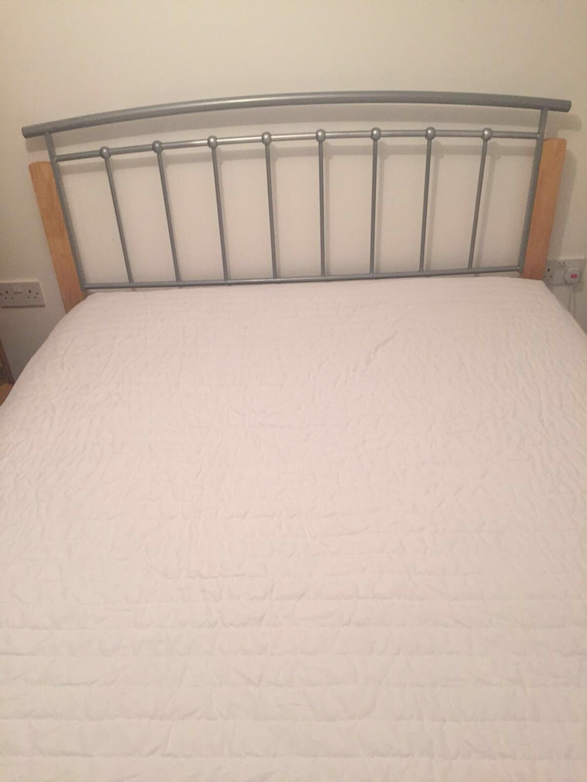 Second Hand King Size Mattress King Size Bed Wood And Metal Frame Mattress