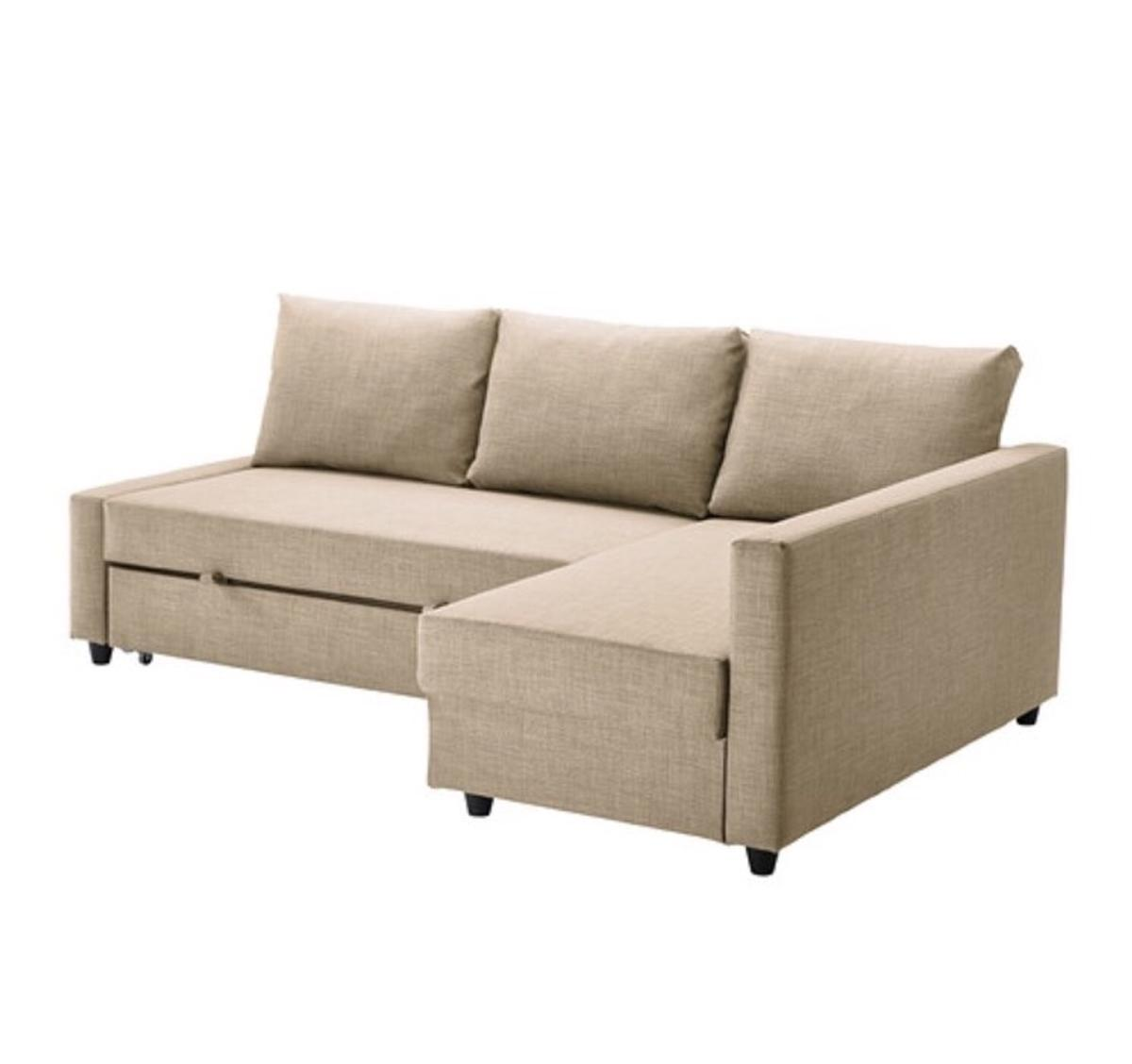 Bett Sofa Ikea Strandmon Couch Bettsofa Beige