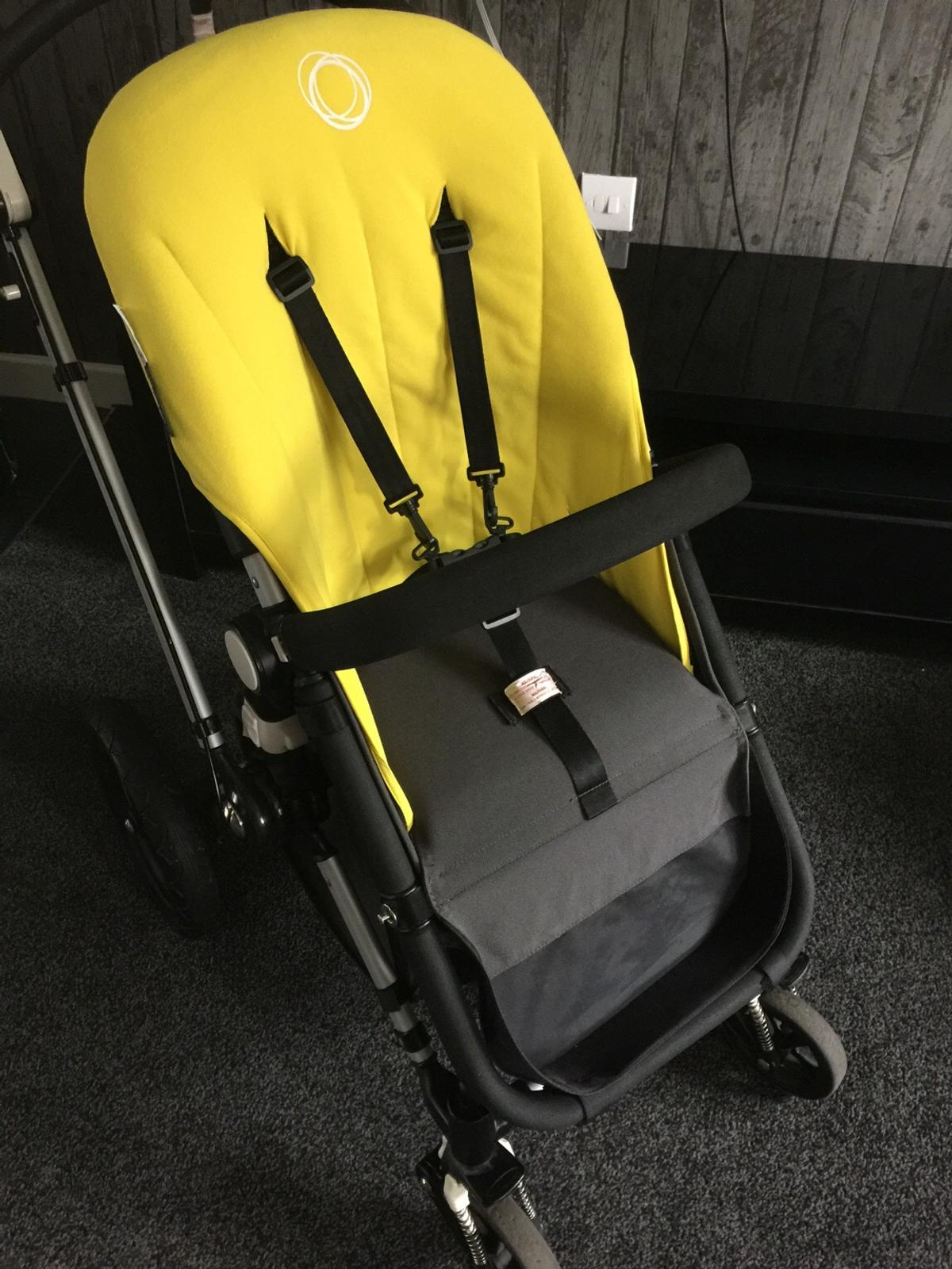 Bugaboo Pram Yellow Bugaboo Cameleon New Fleece Fabric Set In Latchford For