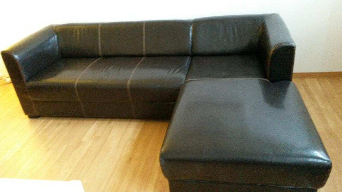 Ecksofa 2 30 X 1 60 Ikea Sofa Couch Braun Kunstleder 2 30x1 60 In 40699 Erkrath For