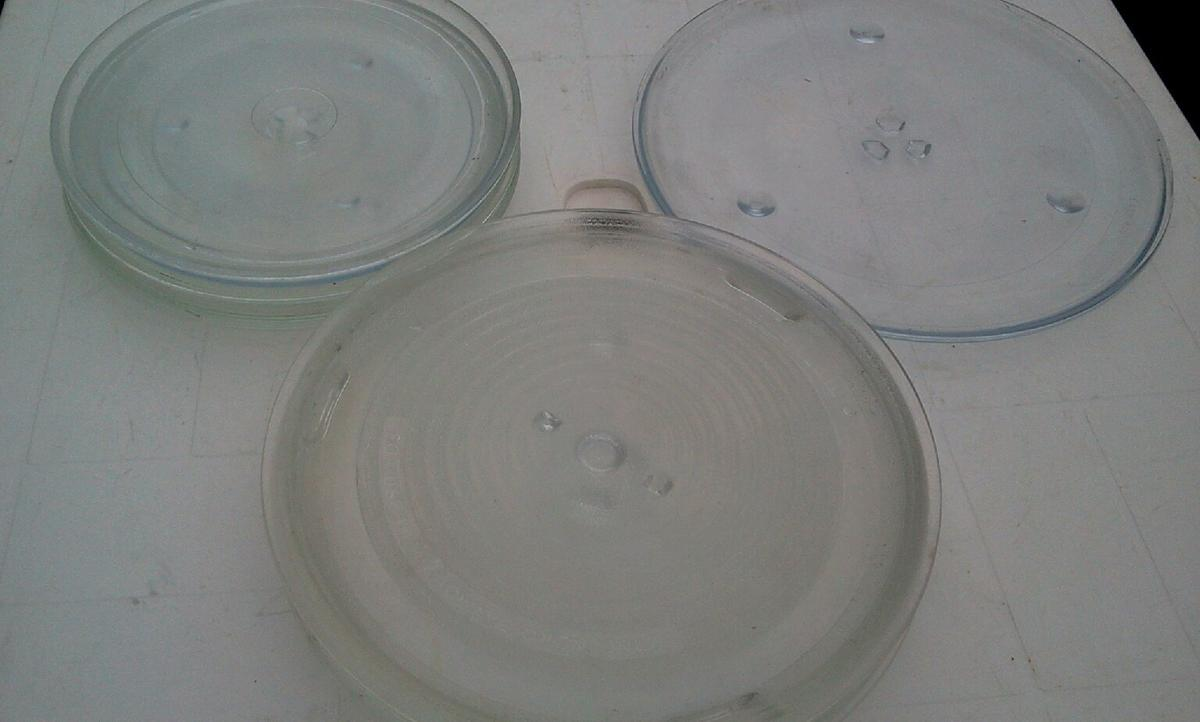 Glass Plate Cover For Microwave Joblot Microwave Glass Plates