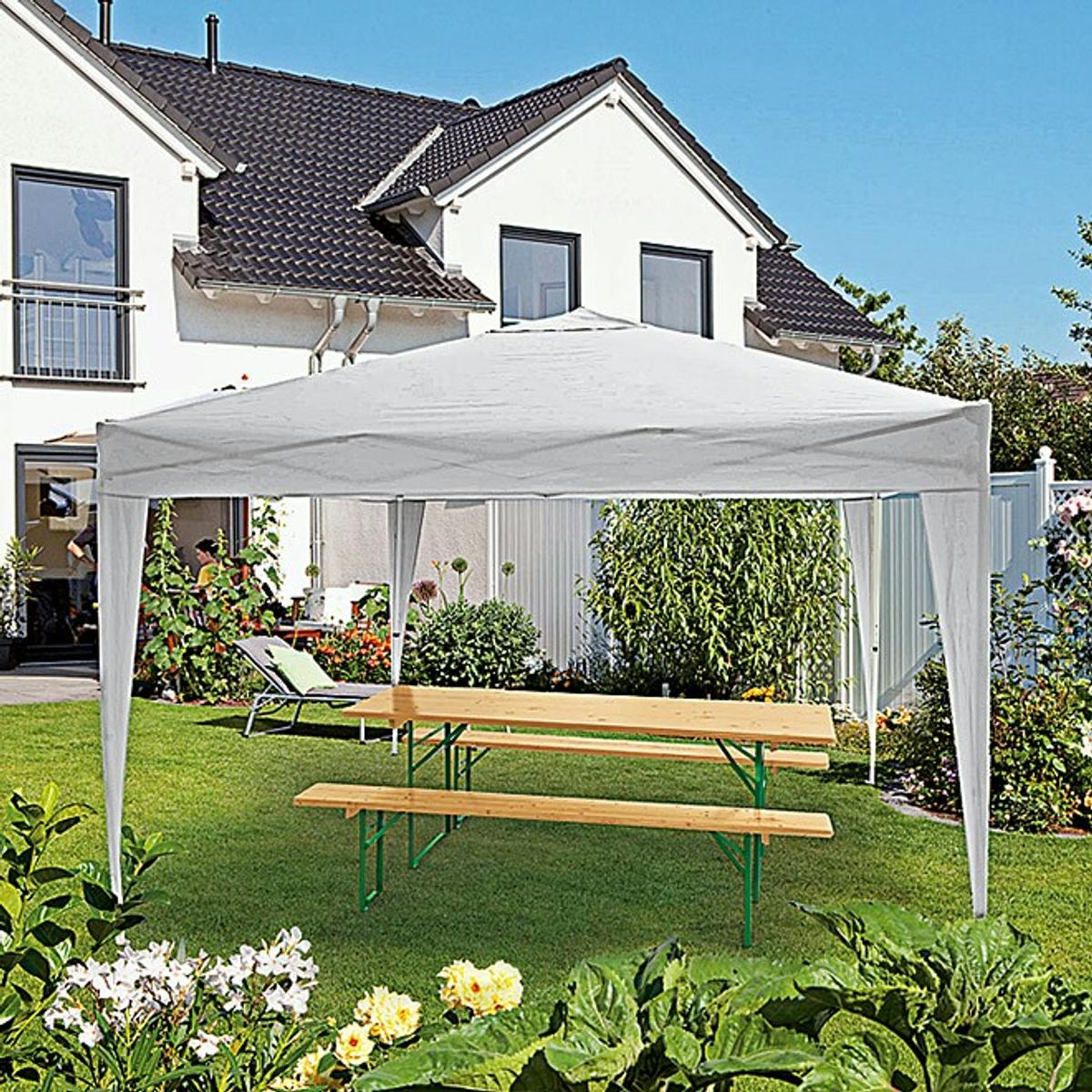 Markisenstoff Auswechseln Sunfun Pavillon Easy Up Sunfun Pavillon In 69124 ...