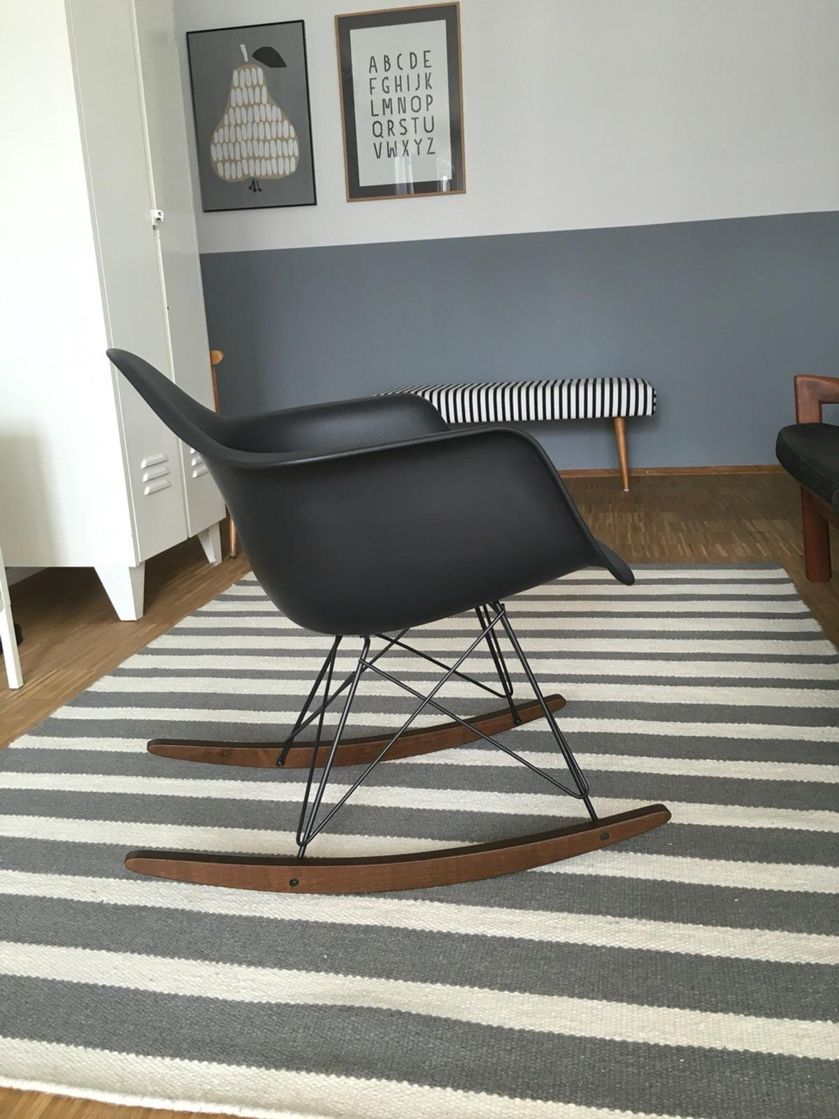 Schaukelstuhl Vitra Vitra Eames Schaukelstuhl Rocking Chair In 80634 München For