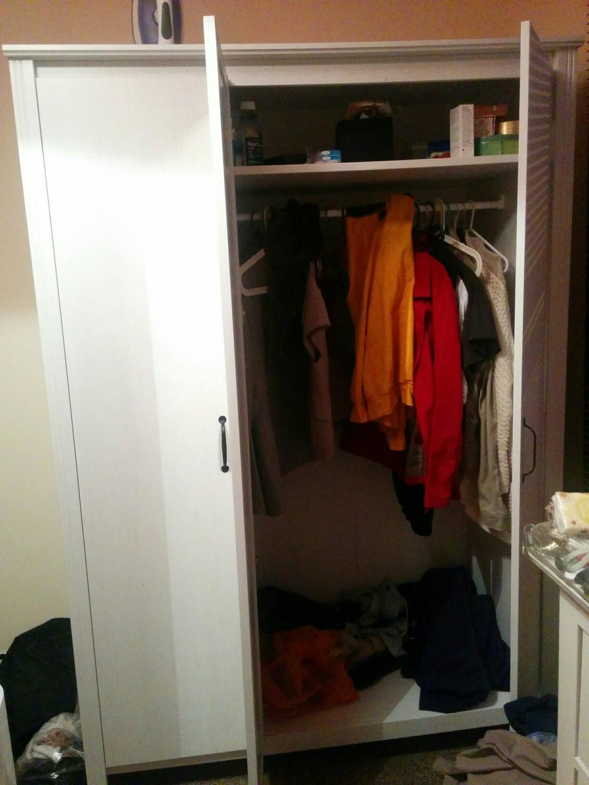 Brusali Wardrobe Ikea Brusali Wardrobe In E15 London For 70 00 For Sale Shpock