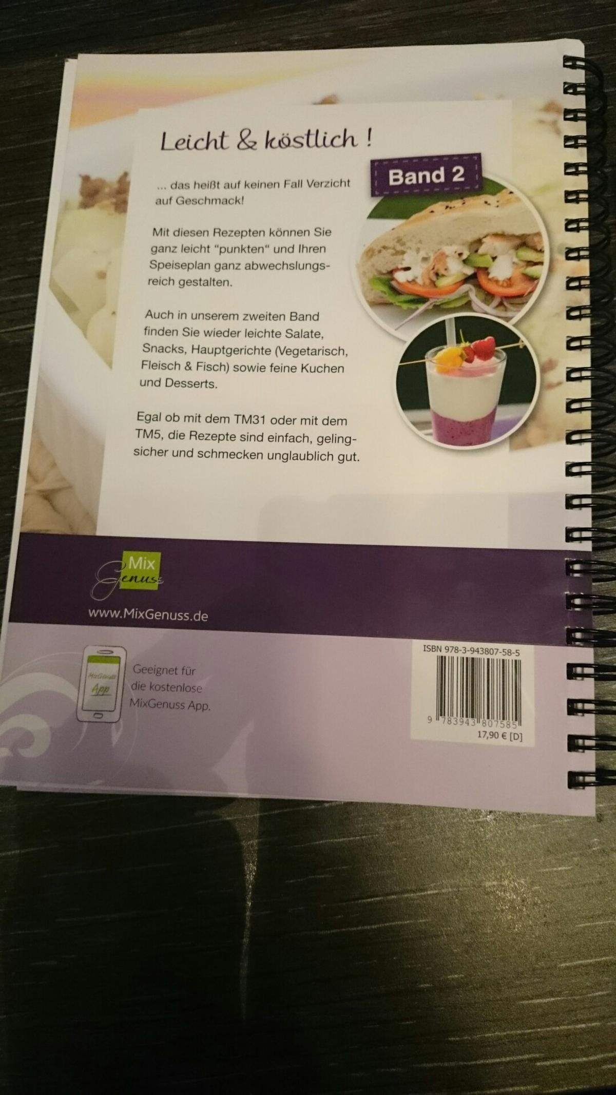 Thermomix Tm5 Leichte Küche Mix Genuss Thermomix Bücher In 92421 Schwandorf For €15.00 For Sale | Shpock