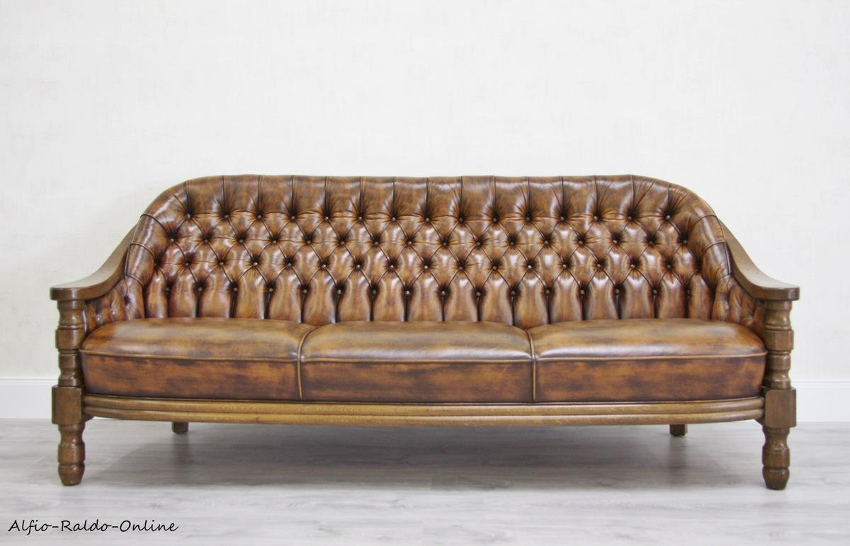 Antike Sofas Online Chesterfield Sofa Leder Alt Antik Vintage In 32758 Detmold For