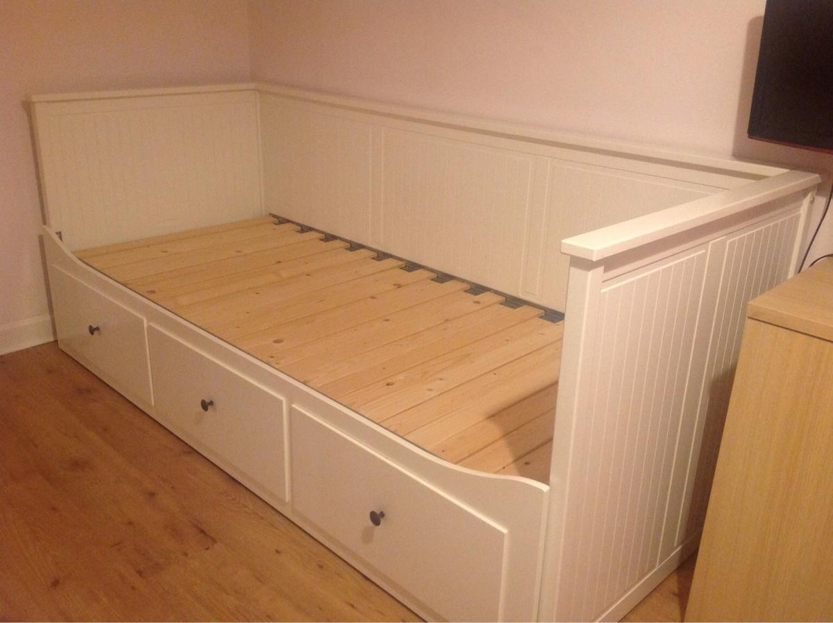 Ikea Front Ikea Hemnes Day Bed White