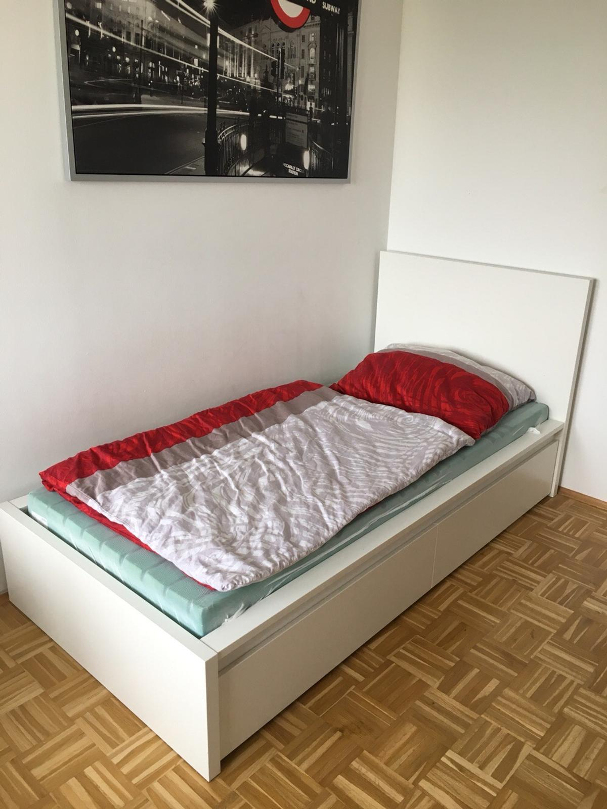 90x200 Bett Ikea Malm Bett 90x200 In 4614 Marchtrenk For 125 00 For Sale Shpock
