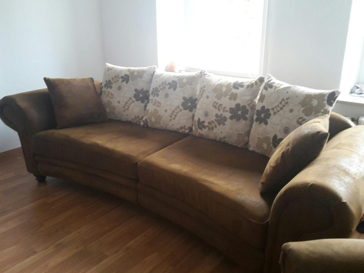 Couch Im Landhausstil Sofa - Big Sofa - Landhausstil - Möbel Kraft In 06198 Beesenstedt For €199.00 For Sale | Shpock
