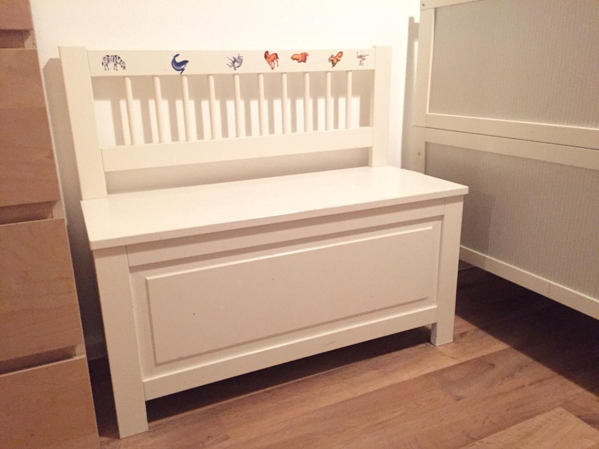 Kindersitzbank Truhe Hemnes Kinderbank Mit Truhe Weiß In 10249 Berlin For 30 00 For
