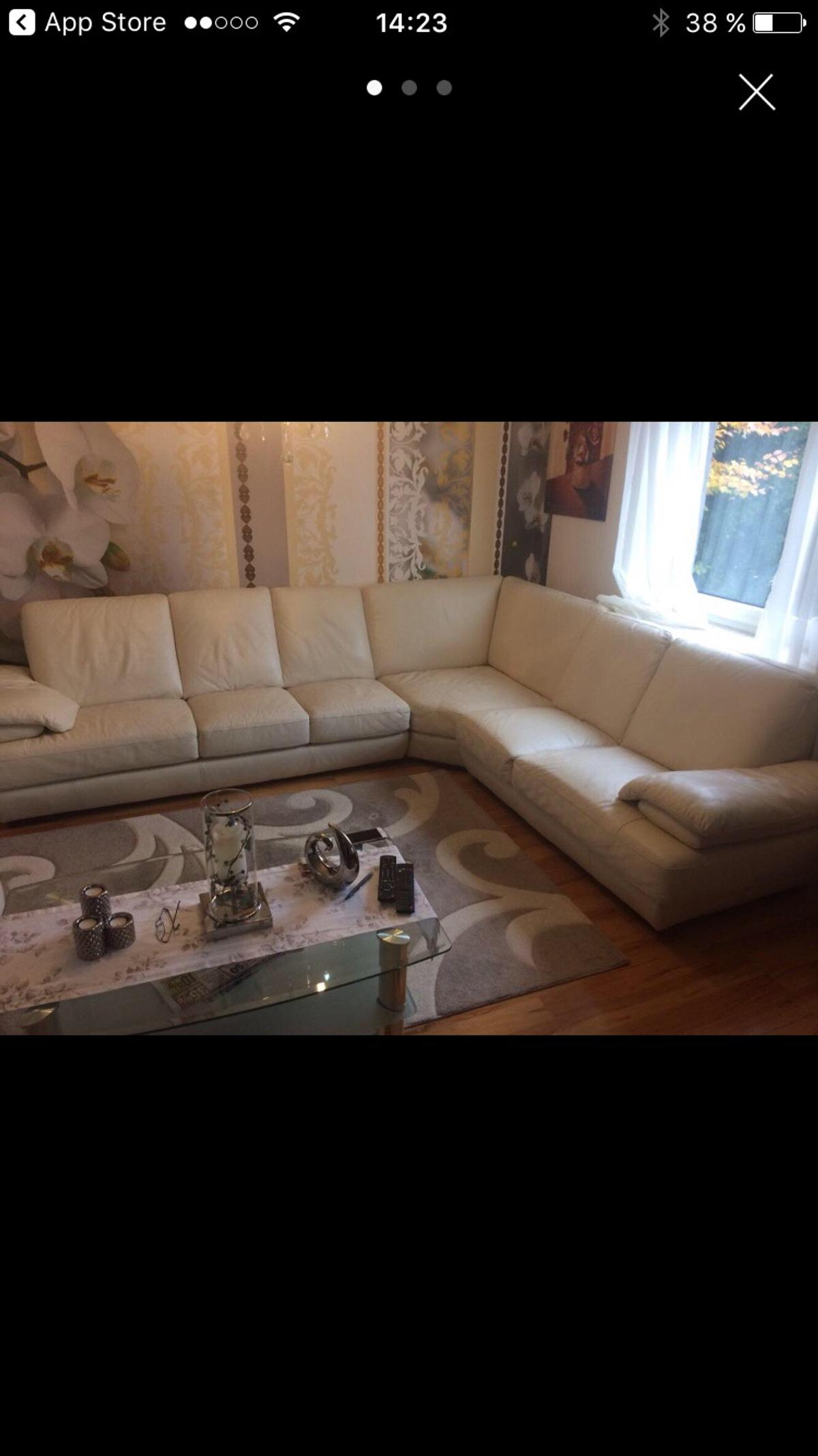 Ledercouch Beige In 56579 Rengsdorf For 200 00 For Sale Shpock