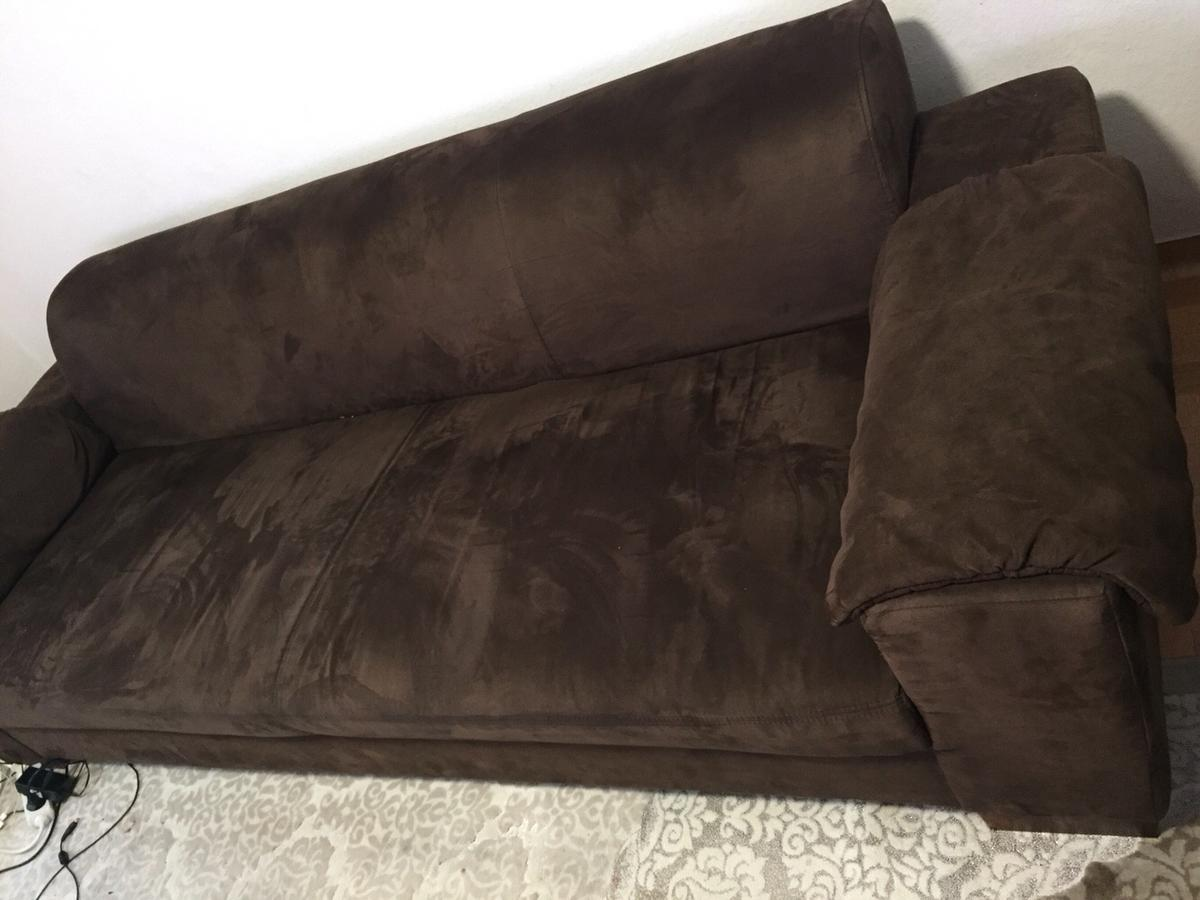 Sofa Veloursleder Sofa/ Coutsch In 34127 Kassel For €100.00 For Sale | Shpock