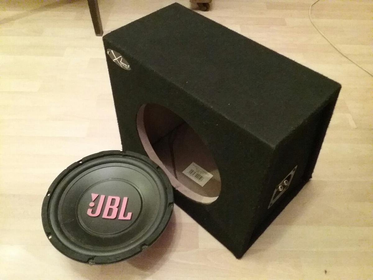 Jbl Bass Bass Box Jbl Cs10 500w Speaker