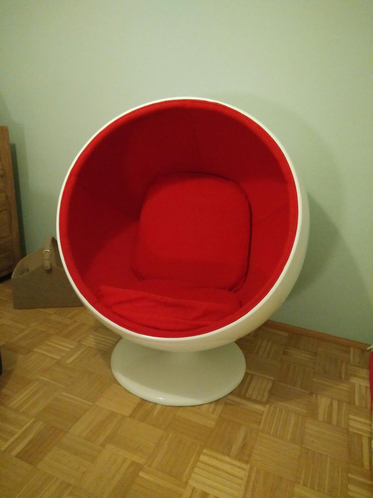Ball Sessel Ball Chair Kugelsessel Kugel Sessel