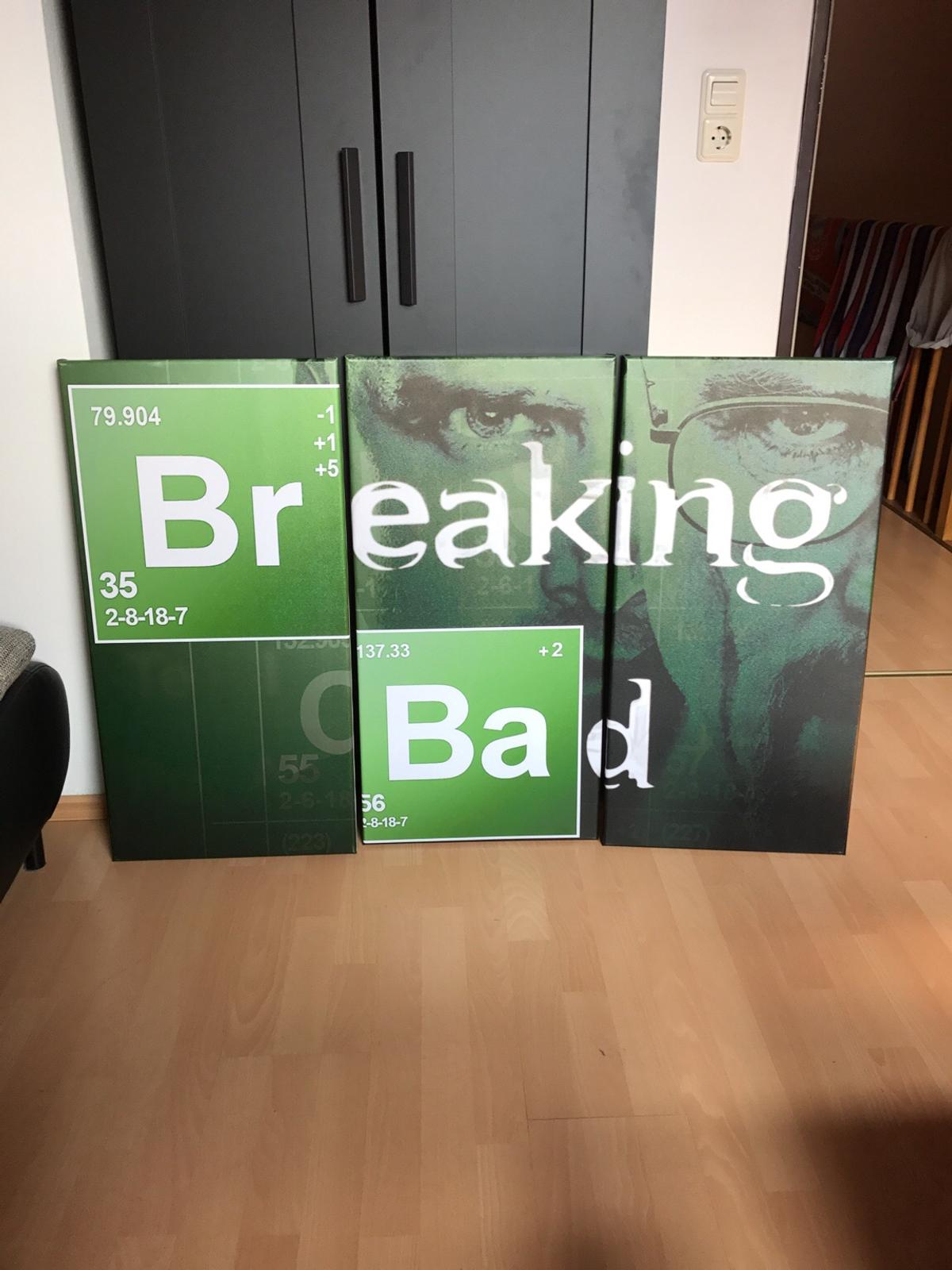 Breaking Bad Bettwäsche Breaking Bad Leinwandbild 3 Teilig In 90766 Fürth For €20.00 For Sale | Shpock