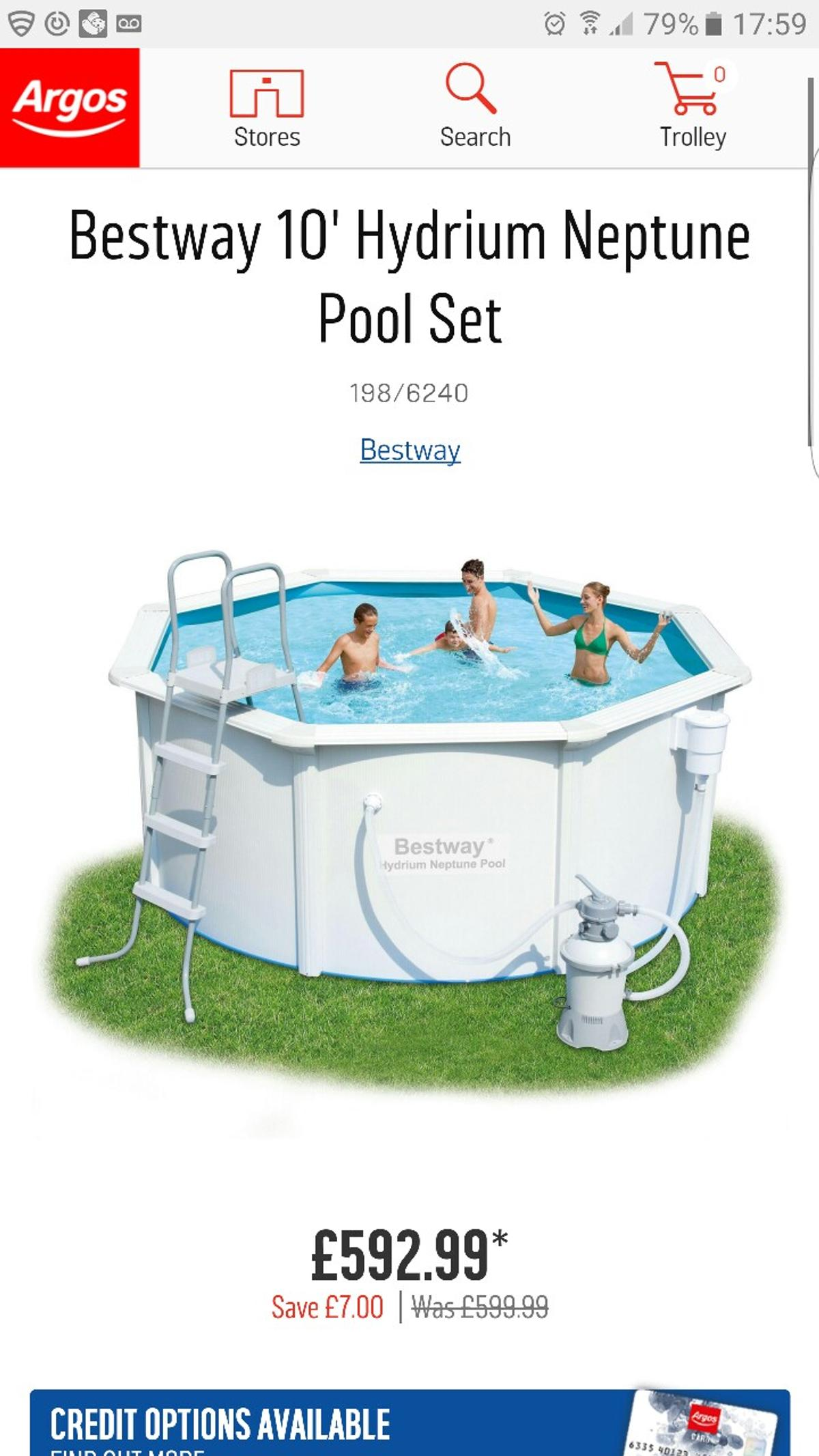 Jacuzzi Pool Argos Bestway Hydrium Neptune Swimming Pool In Rg30 Reading For 350 00