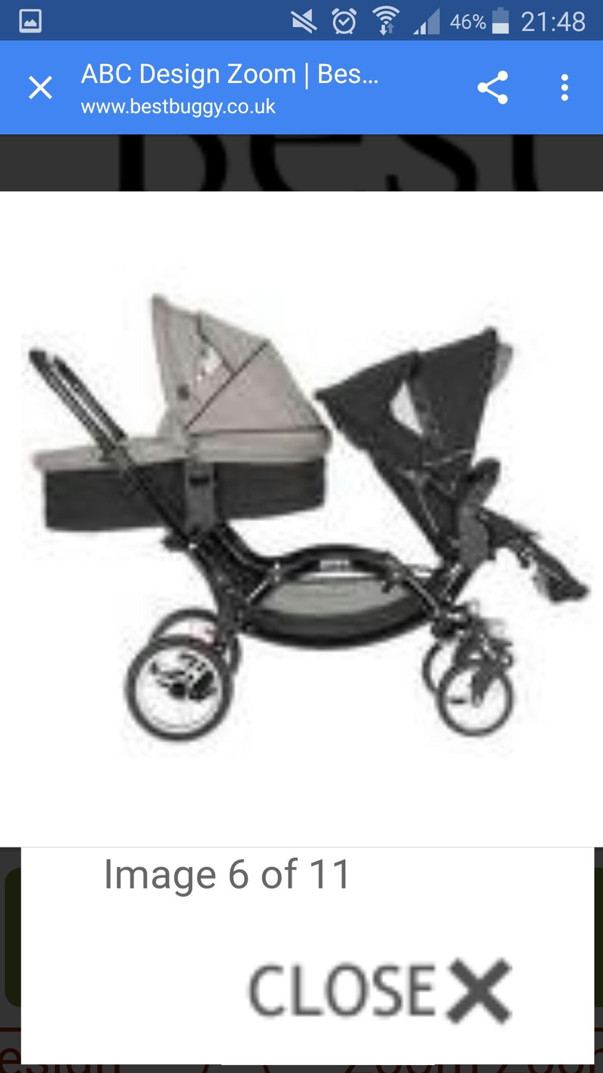 Buggy Abc Design Ersatzteile O Baby Abc Design Zoom Tandem Pram In Ll11 Wrexham For