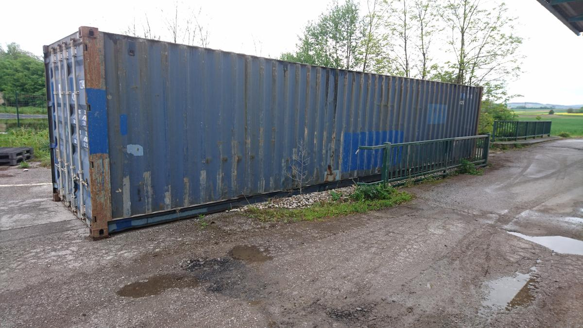 Seecontainer Lagercontainer Seecontainer 40 Fuss In 3701 Großwiesendorf For €1,000.00 For Sale | Shpock