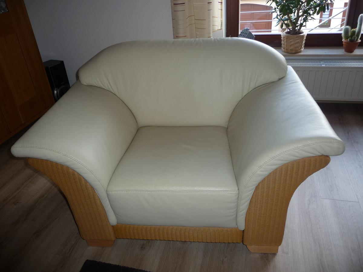 Lounge Sessel Natur Loom Lounge Sessel 1 Sitzer Leder Ledersessel In 06268
