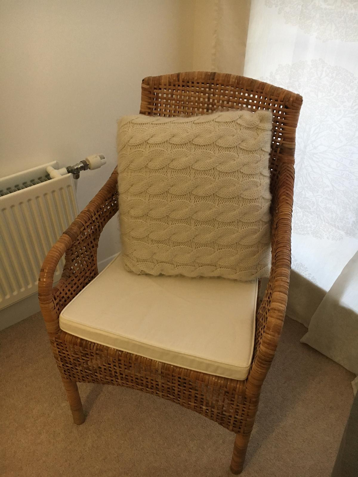 Rattan Ikea Ikea Agen Rattan Chair With Seat Cushion