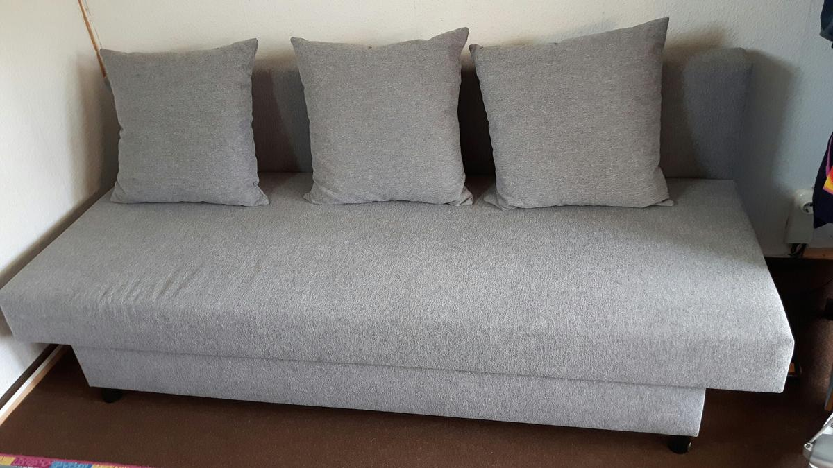 Ikea Asarum 3er Bettsofa 193x73x84 Cm Gra In 06130 Halle Saale For 80 00 For Sale Shpock