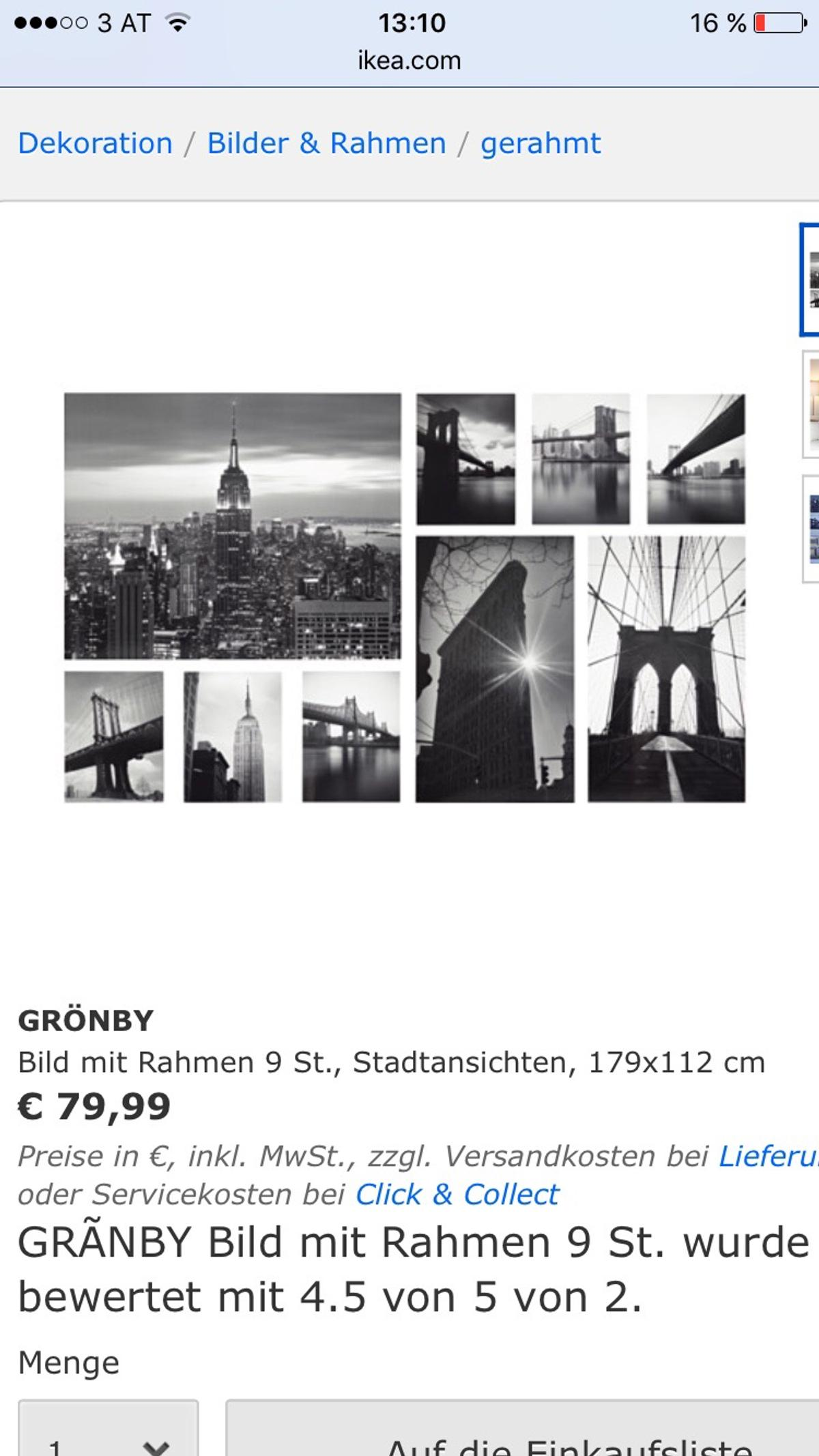 Ikea Grönby 9 Bilder Neu In 5020 Salzburg For 45 00 For