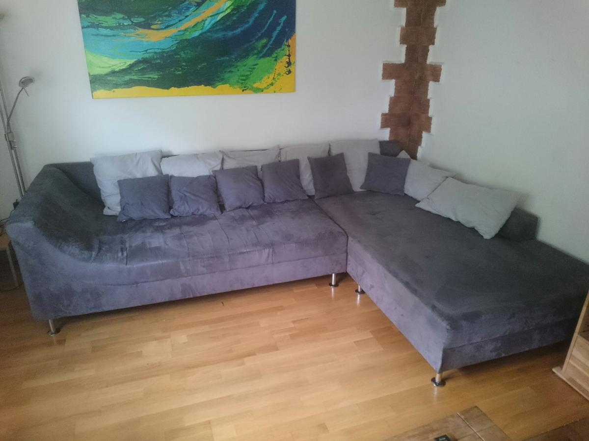 Weko Couch Wohnlandschaft Eckgarnitur Couch Sofa Nubuk In 83026 Rosenheim For Free For Sale | Shpock