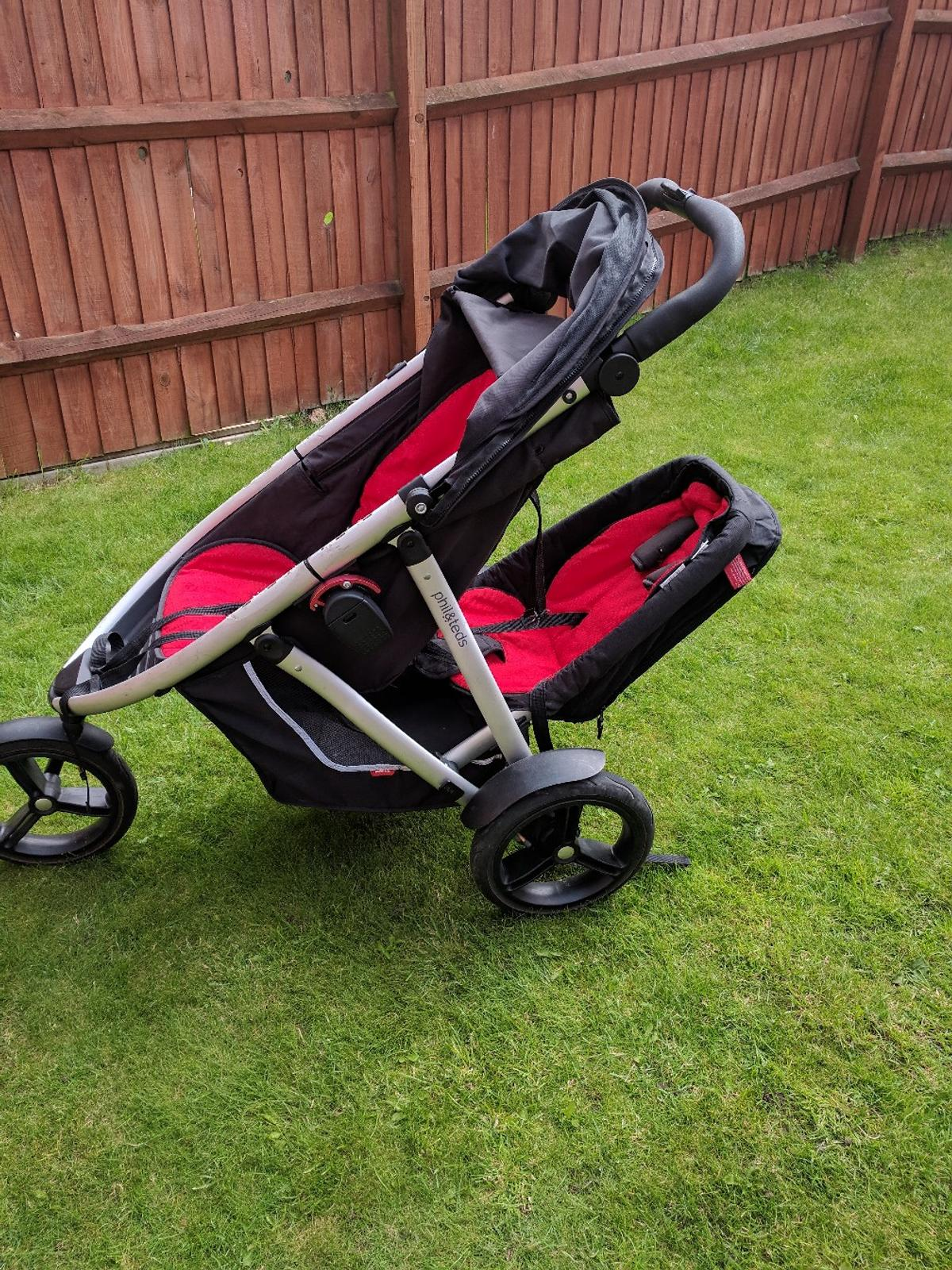 Phil And Teds Double Buggy Vibe Phil And Ted Vibe Double Pram In Le5 Leicester For 150 00