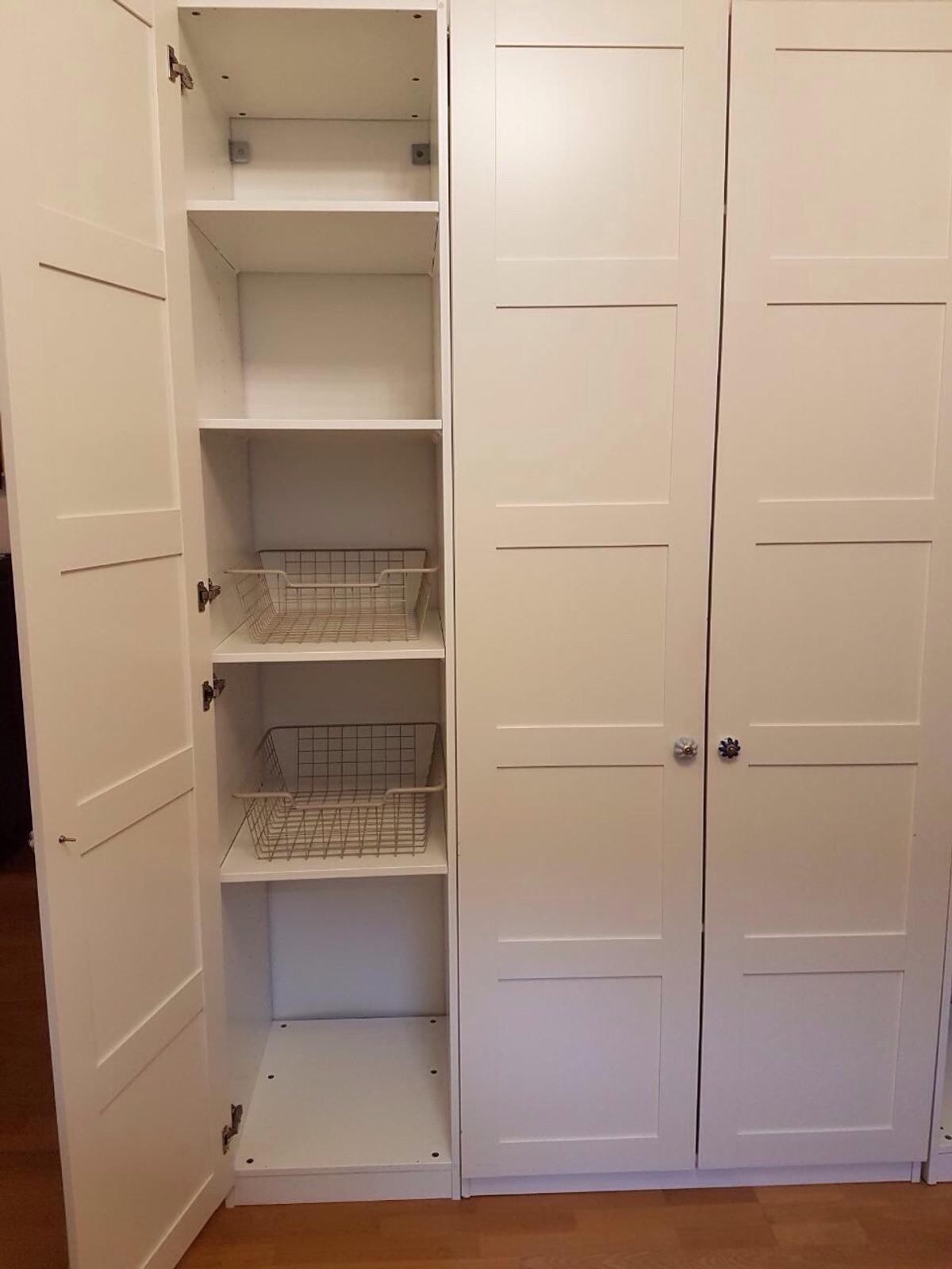 Kleiderschrank Landhausstil Holz Kleiderschrank Pax Landhausstil, Dreiteilig In 60486 Frankfurt Am Main For €250.00 For Sale | Shpock