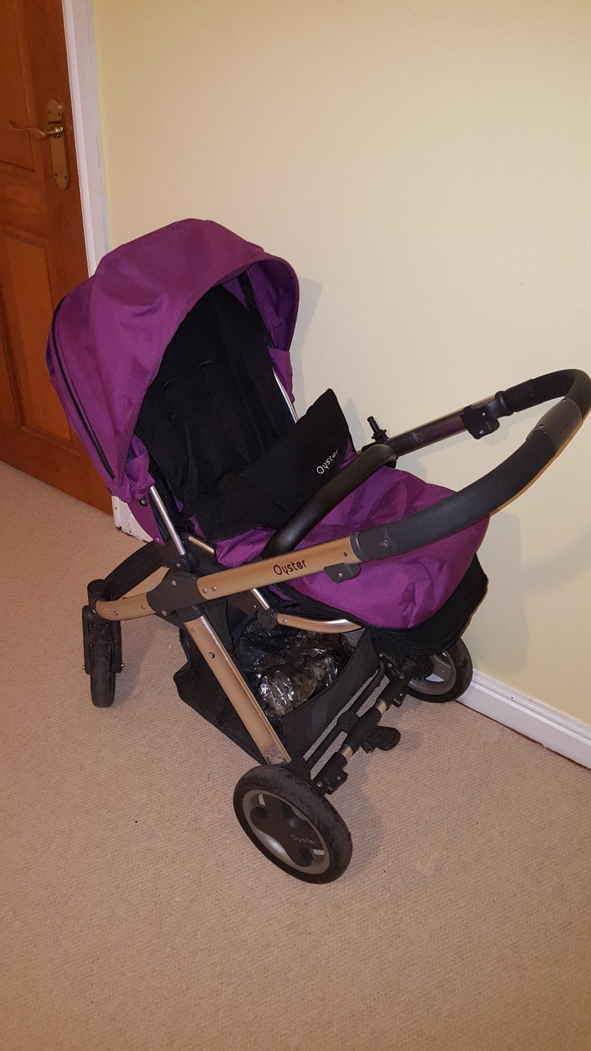Oyster Pram Purple Oyster Pram In Tf10 Newport For 40 00 For Sale Shpock