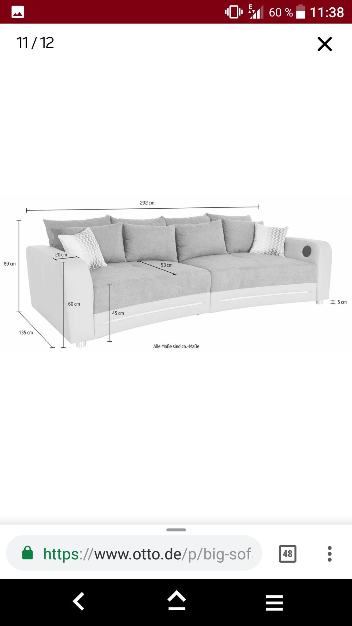 Ecksofa Mit Sound Couch Sofa Led Sound Bluetooth In 16816 Neuruppin For 450 00 For
